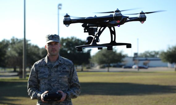 Until now, military drones have been simple devices that are controlled from a distance. Credit: U.S. Air Force/ Kemberly Groue