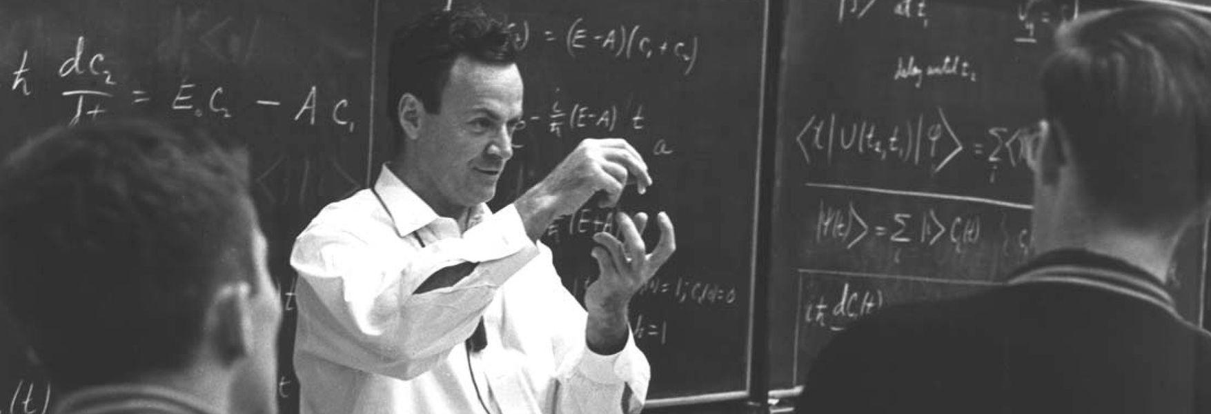 Resultado de imagem para feynman