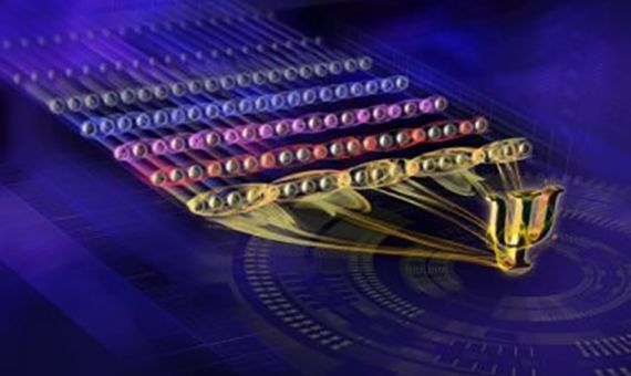 Un equipo del Instituto de Óptica Cuántica e Información Cuántica ha conseguido el mayor registro de entrelazamiento cuántico de sistemas controlables individualmente, con un total de 20 cúbits. Crédito: IQOQI Innsbruck/Harald Ritsch.