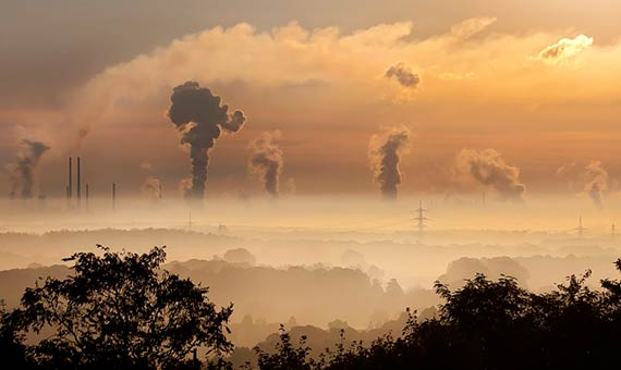 Electricity and heat production are the two most significant factors in greenhouse gas emissions, with agriculture and forestry hot on their heels./ Image: CC0 Public Domain