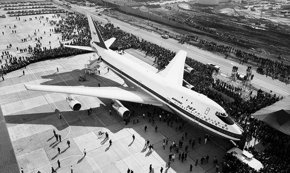 En septiembre de 1968, Boeing presentaba su modelo 747. Crédito: SAS Scandinavian Airlines