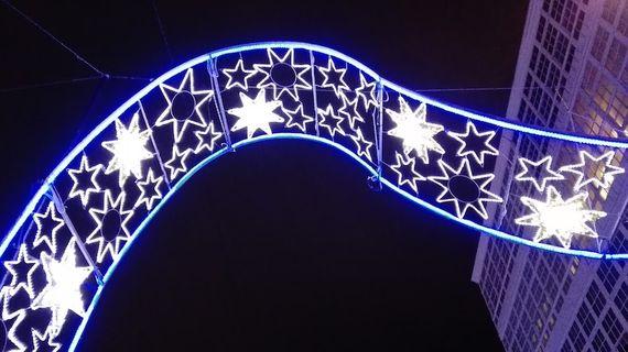 Las Verdaderas Luces De La Navidad Openmind