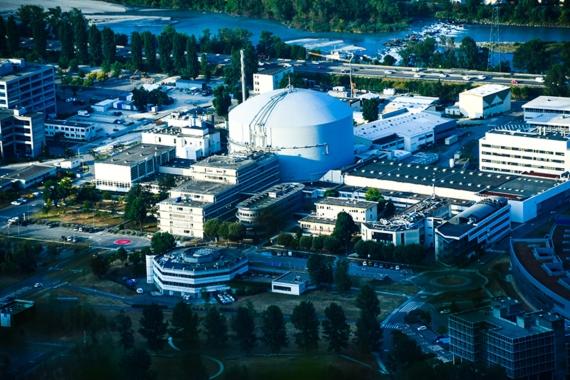 Las instalaciones del Instituto Laue-Langevin, en Grenoble (Francia). Crédito: ILL