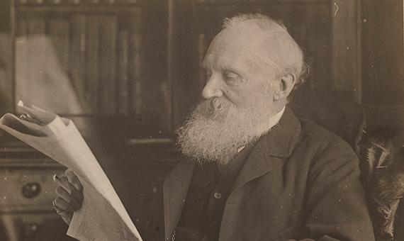 Retrato de Lord Kelvin. Fuente: Wikimedia