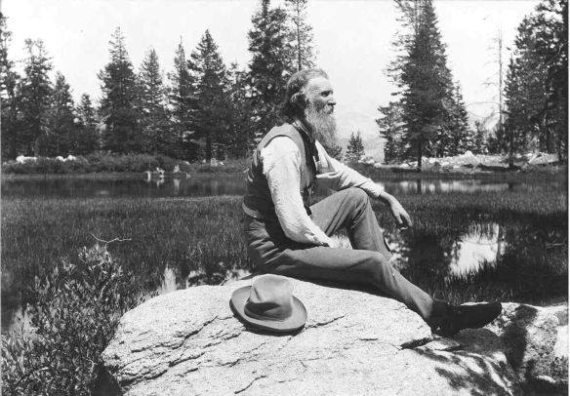 Muir first came to Yosemite in 1868.  Credit: National Park Service