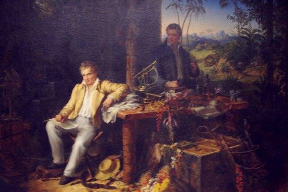 Alexander von Humboldt and Aimé Bonpland. Source: Wikimedia