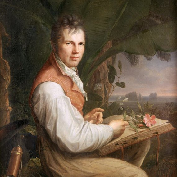 Humboldt was considered in his time a great scientific authority. <br/><em><strong>Source:</strong></em> Karin März