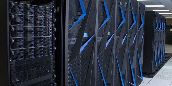 The Sierra supercomputer  is dedicated to military research. Crédito: LLNL