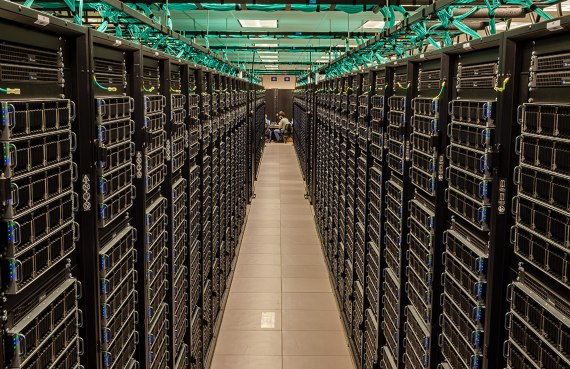 The Frontera supercomputer at the Texas Advanced Computing Center. Crédit: TACC