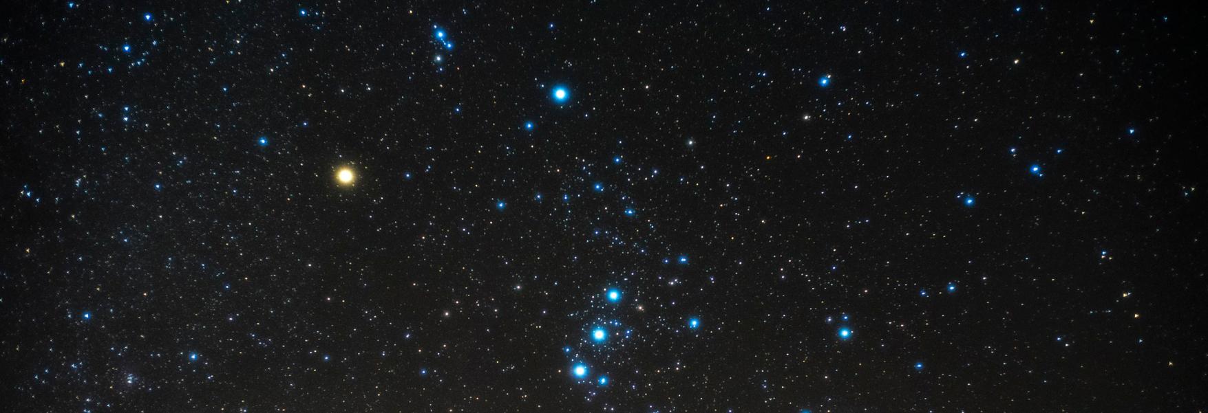 Mapa Del Cielo Nocturno Hoy.Los Colores De Las Estrellas Y El Mapa Del Tesoro Del Cielo