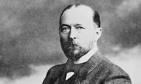 Portrait of Emil von Behring
