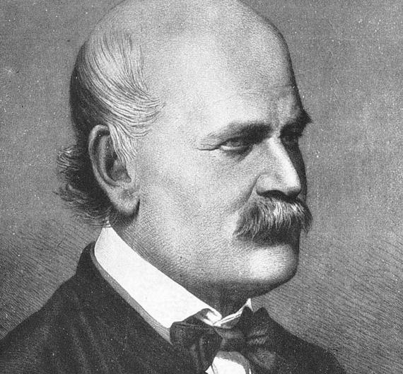 BBVA-OpenMind-Francisco Doménech-descubrió que lavarse las manos salva vidas-Semmelweis 1-Retrato de Ignaz Semmelweis en 1860. Autor: Jenő Doby