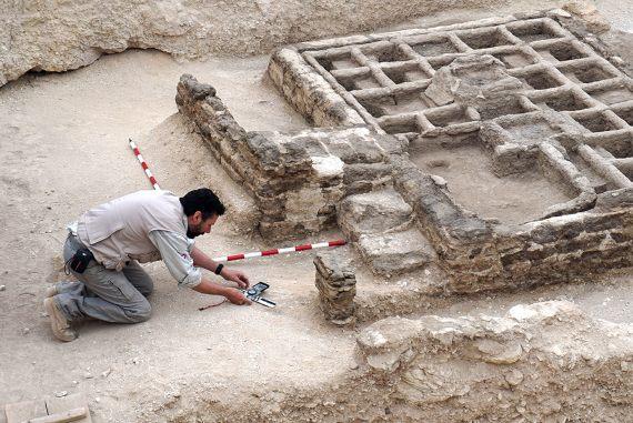 BBVA-OpenMind-Eugenia Angulo-nuevas técnicas de la Egiptología-Egipto 5-El jardín encontrado en 2017. Crédito: Proyecto Djehuty