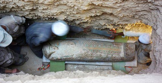BBVA-OpenMind-Eugenia Angulo-nuevas técnicas de la Egiptología-Egipto 6-Neb, oculto en un ataúd rishi del 1600 a.C. Crédito: Proyecto Djehuty