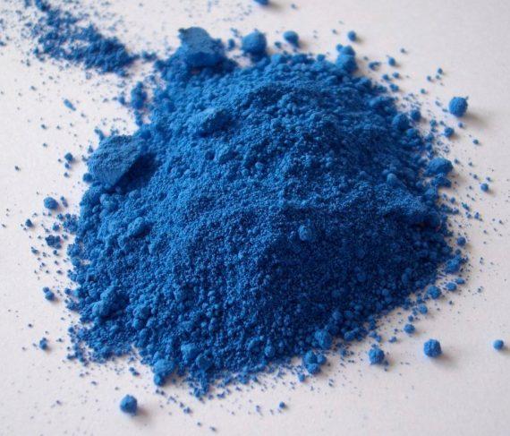 BBVA-OpenMind-Miguel Barral-azul menos tóxico-Thenard 2-Azul Thénard. Crédito: FK1954