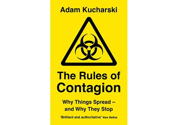 BBVA-OpenMind-Materia-10 libros de ciencia para este verano-7 Libros 2020 ING-THE RULES OF CONTAGION Adam Kucharski (Wellcome Collection, 2020)