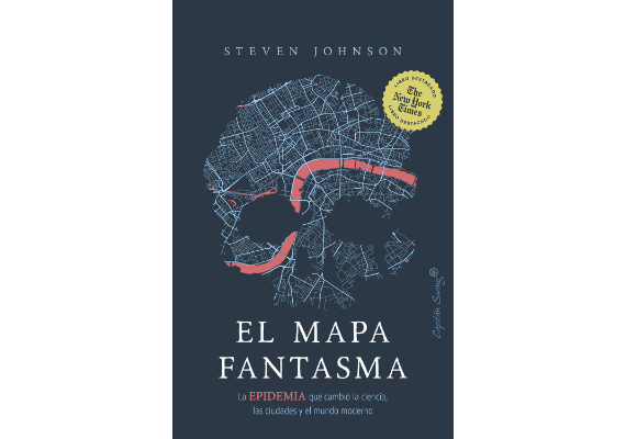 BBVA-OpenMind-Materia-10 libros de ciencia para este verano-9 Libros 2020 ESP-EL MAPA FANTASMA Steven Johnson (Capitán Swing, 2020)
