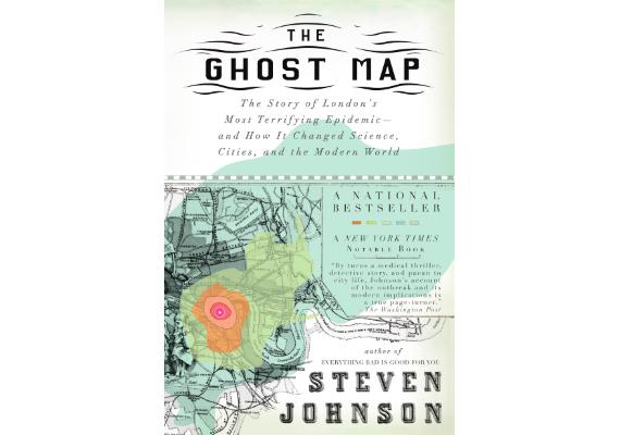BBVA-OpenMind-Materia-10 libros de ciencia para este verano-9 Libros 2020 ING-THE GHOST MAP Steven Johnson (Riverhead Books, 2006)