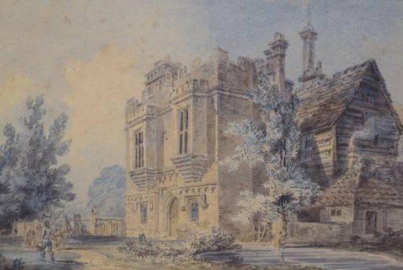 BBVA-OpenMind-Fuco-John Locke- Revolución Científica-John_Locke_2-La puerta de entrada de Rye House, en Hertfordshire, Reino Unido. Autor: J.M.W. Turner
