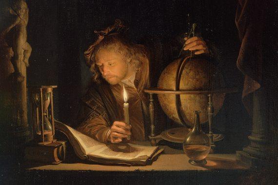 BBVA-OpenMind-Fuco-John Locke- Revolución Científica-John_Locke_4-Para avanzar en sus conocimientos astronómicos, físicos o químicos, los científicos necesitaron desarrollar métodos empíricos. Autor: Gerrit Dou