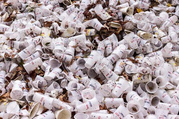 BBVA-OpenMind-combatir la pandemia sin empeorar la salud del planeta-Pandemia y medioambiente 3-Las grandes cadenas y los establecimientos locales han regresado a los vasos desechables. Fuente: Pikist