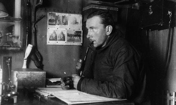 BBVA-OpenMind-Fuco-Wegener y la deriva continental que rompió los esquemas a los geólogos- 2-Última expedición de Wegener en Groenlandia. Crédito: Alfred Wegener Institute