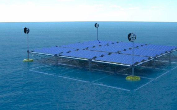 BBVA-OpenMind-Javier Yanes-Innovaciones para hacer las energías renovables más sostenibles 5-Sinn Power propone unir la energía de las olas, el sol y el viento en un mismo sistema. Crédito: Sinn Power