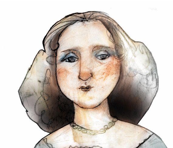 BBVA-OpenMind-Un nombre en clave para la primera científica española-María Andresa Casamayor- 2-Retrato de María Andrea Casamayor. Crédito: Eulogia Merle