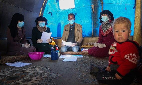 La Organización Mundial de la Salud (OMS) ha pedido 675 millones de dólares para financiar la respuesta a la pandemia de COVID-19. / Imagen: <strong><em>ONU-ONCHA</em></strong>