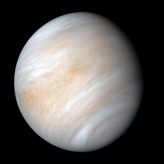 BBVA-OpenMind-Materia-Top ciencia 2020_7-Un hallazgo en septiembre disparó las especulaciones sobre la presencia de vida en Venus. Crédito: NASA/JPL (David Seal)