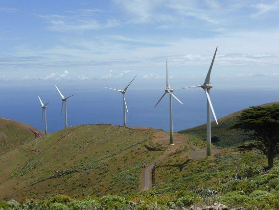 BBVA-OpenMind-Miguel Barral-calentamiento global amenaza el futuro de las energías renovables 3-Las variaciones en la velocidad del viento y en su direccionalidad repercuten negativamente en la energía eólica. Fuente: Carlos Teixidor Cadenas
