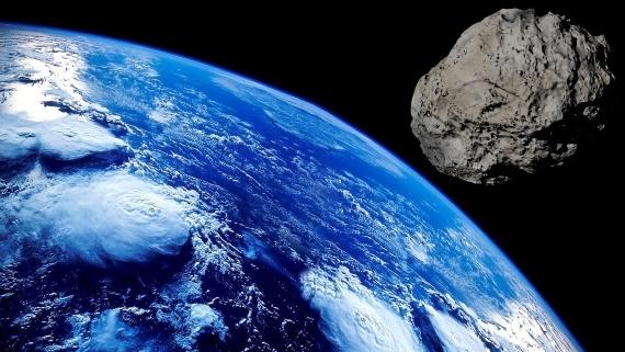 BBVA-OpenMind-Materia-origen del agua en la Tierra-3-Las colisiones de asteroides probablemente contribuyeron al suministro de agua de la Tierra. Fuente: Pixabay
