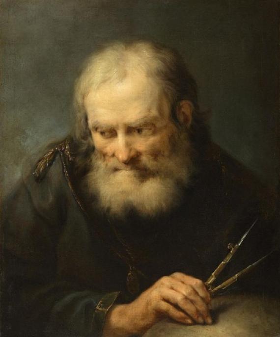 BBVA-OpenMind-Yanes-La historia del número pi-Numero pi-3-Arquímedes creó un algoritmo que permitía una mejor aproximación. Fuente: Wikimedia